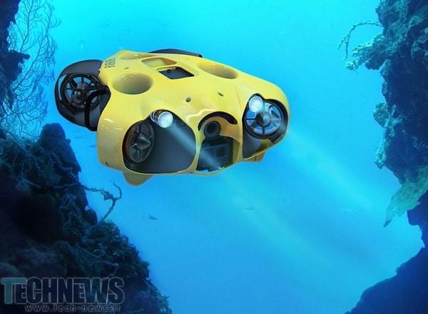 Photo of پهپاد آبی تایتان – پهپاد زیر آبی تا عمق 150 متری + ویدئو