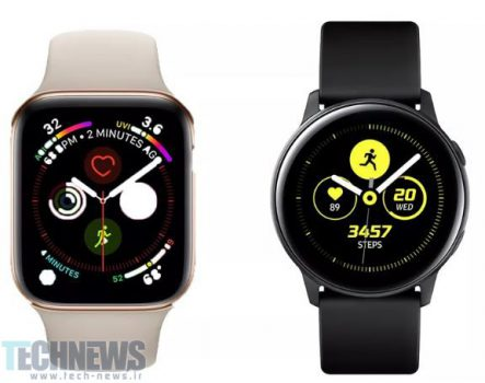Photo of مقایسه ساعت Samsung Galaxy با Apple Series 4