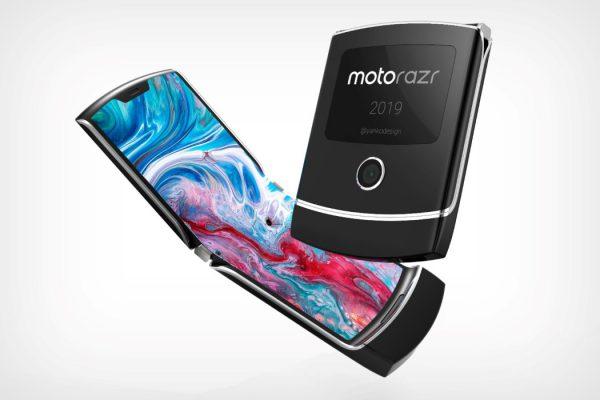 زیباترین گوشی دنیا با طراحی خارق العاده موتورولا Razr 2019