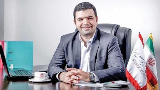 امیر هامونی مدیرعامل فرابورس ایران