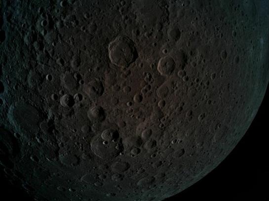 تصویر برداری از کره ماه