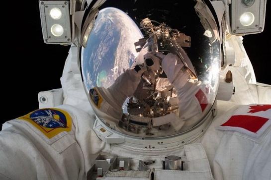 فضانورد دیوید سنت ژاک (David Saint-Jacques)