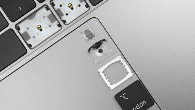 Photo of تغییر جنس مواد در کیبوردهای MacBookPro