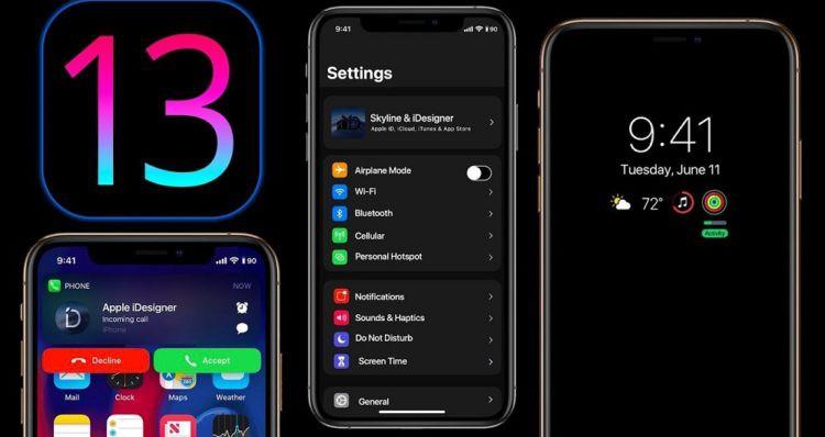 امکانات و ویژگی های سیستم عامل iOS 13