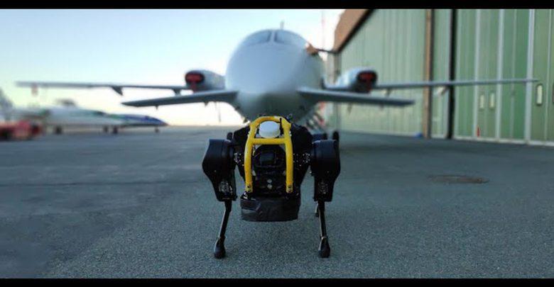 جابجایی هواپیماها با ربات HyQReal + ویدئو