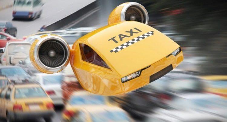 معرفی تاکسی های پرنده شرکت اوبر