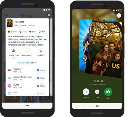 ابزار جستجوی ویژه گوگل برای فیلم و سریال