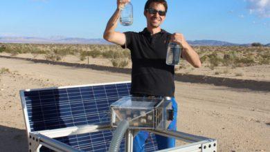 Photo of تهیه آب آشامیدنی از هوای خشک