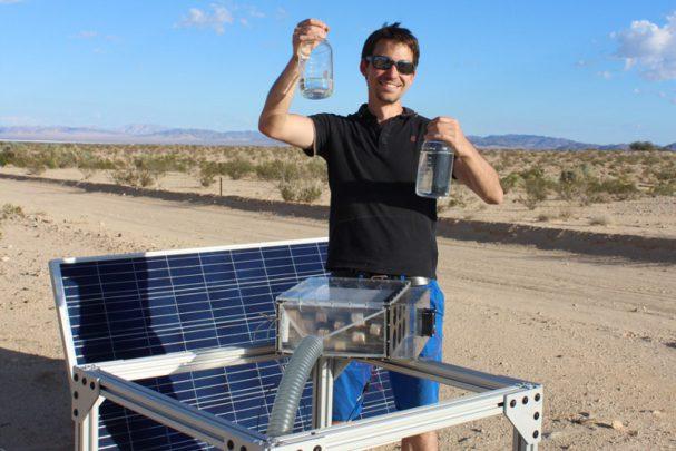 تهیه آب آشامیدنی از هوای خشک | تکنولوژی نیوز