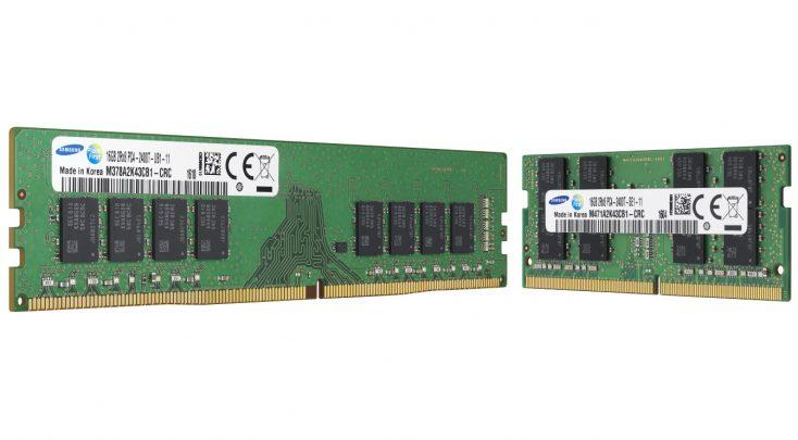 سامسونگ رم های DDR4 با تراشه A-die را روانه بازار کرد