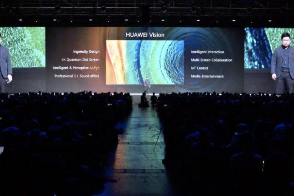 تلویزیون هوشمند سری 4K هواوی Vision معرفی شد