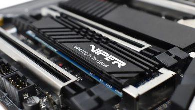 Photo of حافظه ذخیره سازی پاتریوت با نام Viper VP4100 و رابط PCIe 4 معرفی شد