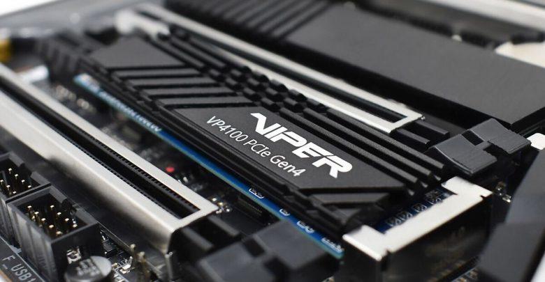 حافظه ذخیره سازی پاتریوت با نام Viper VP4100 و رابط PCIe 4 معرفی شد