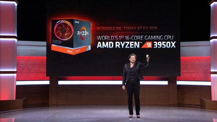اولین پردازنده 16 هسته ای جهان Ryzen 9 3950X توسط AMD ساخته شد