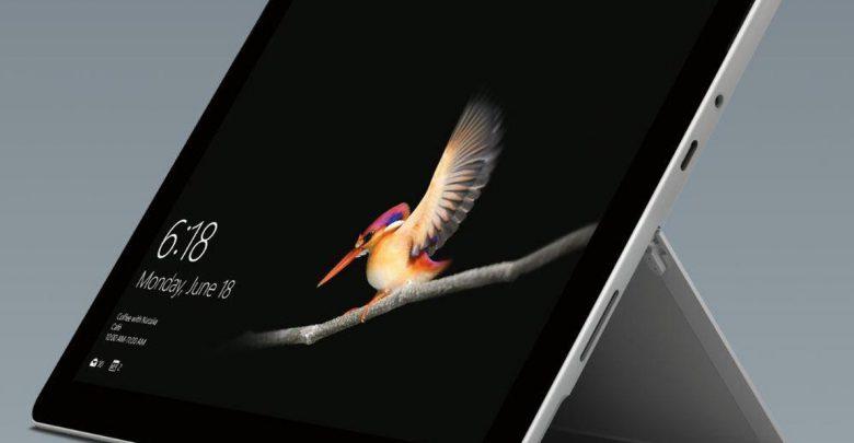 نسل دوم سرفیس گو مایکروسافت با پردازنده Core m3 اینتل