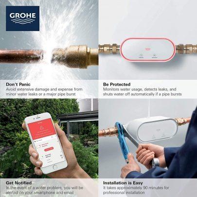 فناوری ای جهت جلوگیری از نشت آب و ترکیدگی لوله ها
