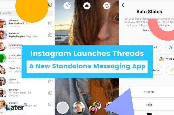 اینستاگرام پیامرسان Threads را برای دوستان نزدیک راه اندازی کرد