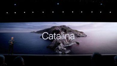 Photo of نسخه جدید macOs به نام کاتالینا با ویژگی های جدید منتشر شد