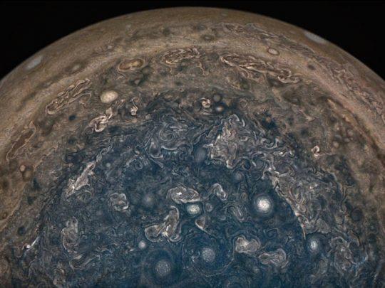 NASA's Jupiter Planet Clouds Explored