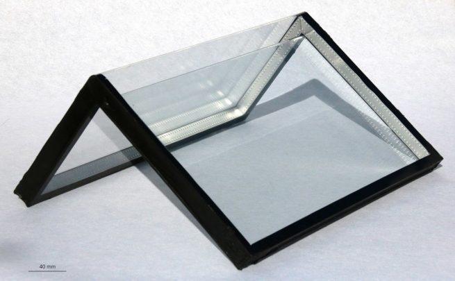 تولید شیشه هایی که تا می شوند