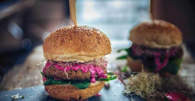 تولید همبرگرهای گیاهی با فیبر بالا