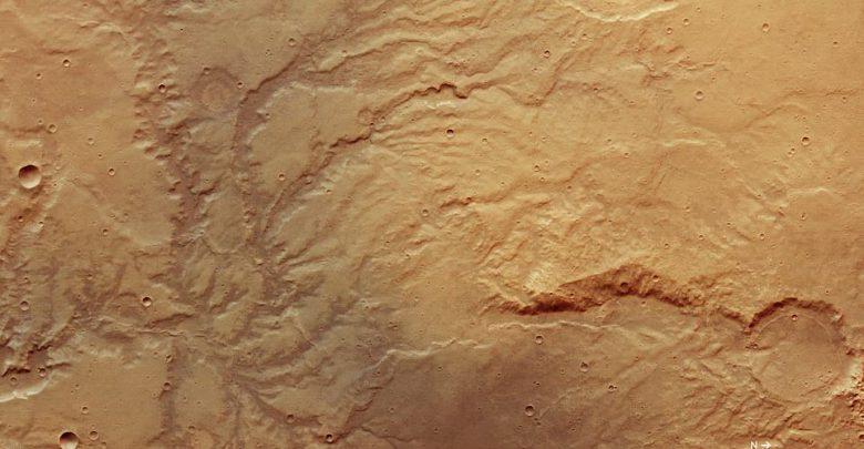 رودهایی که سال ها قبل در مریخ جریان داشته اند