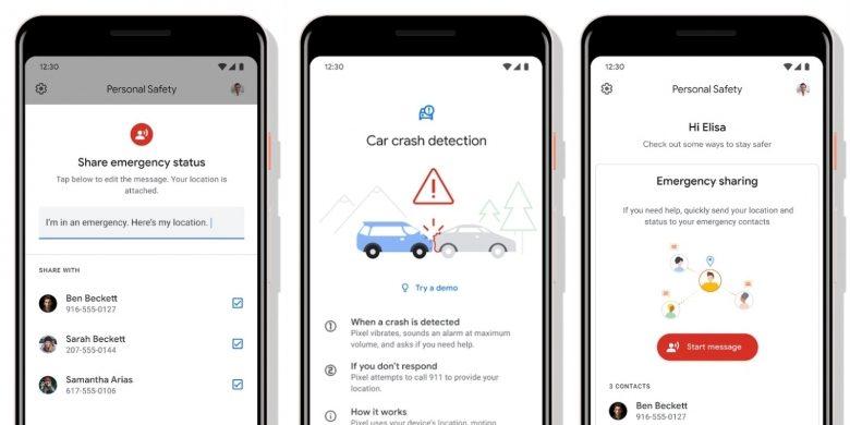 اپلیکیشن جدید گوگل به کاربران در تصادف جاده ای کمک میکند