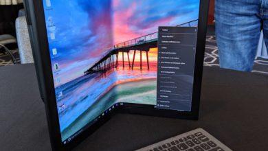 Photo of لپ تاپ تاشدنی هیبریدی لنوو احتمالا در سال 2020 عرضه خواهد شد
