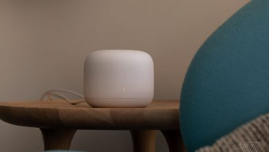 Photo of روتر مش نست وای فای گوگل همراه با دستیار صوتی