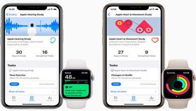 Photo of تحقیقات گسترده اپل در حوزه سلامت و پزشکی