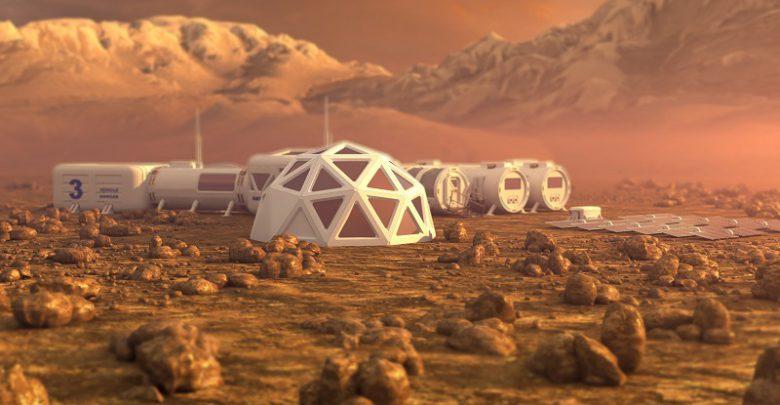ساخت شهر مریخی تا 20 سال آینده