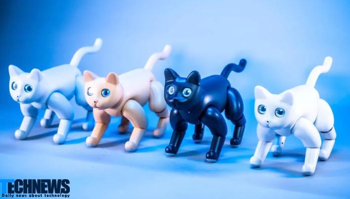 ربات گربه ای؛ طراحی خاص با کاربردهای فراوان