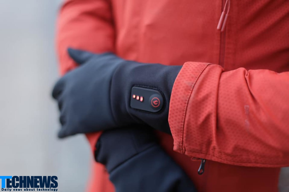 ساخت دستکش های حرارتی ضخیم با امکان کار با گوشی های لمسی