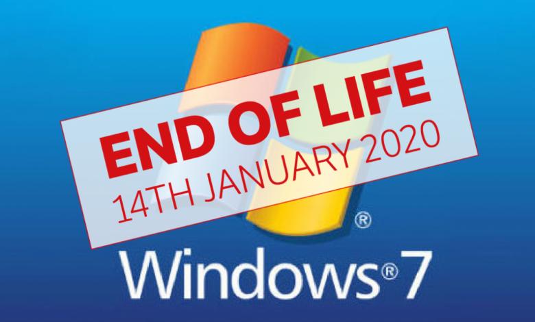 امروز پشتیبانی از ویندوز 7 توسط مایکروسافت پایان مییابد