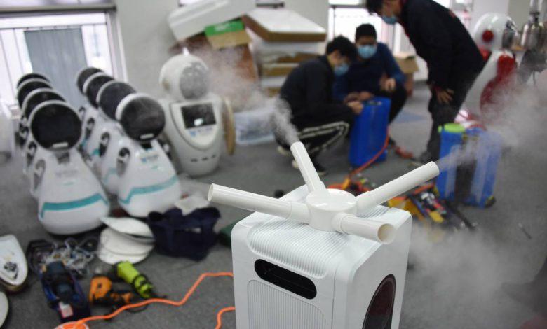 نقش رباتها در بیمارستانهای چین در مقابله با ویروس کرونا
