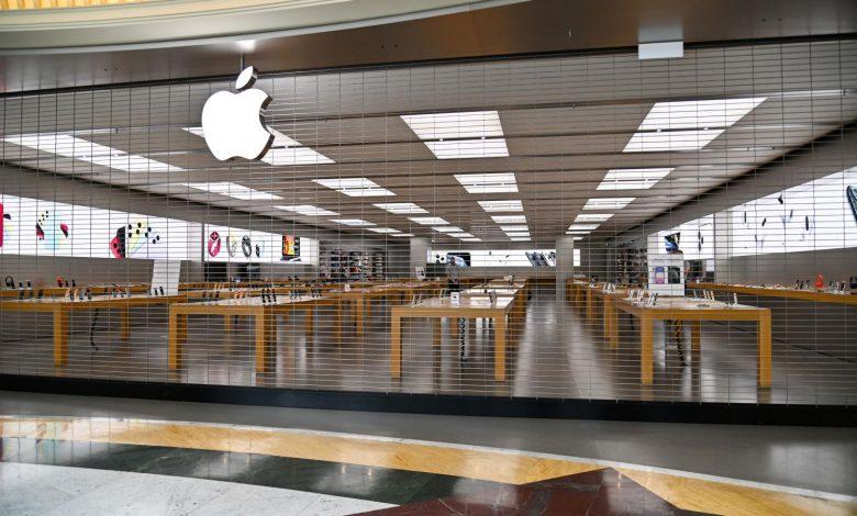 تمامی فروشگاههای اپل در خارج از چین به تعطیلی کشیده شد
