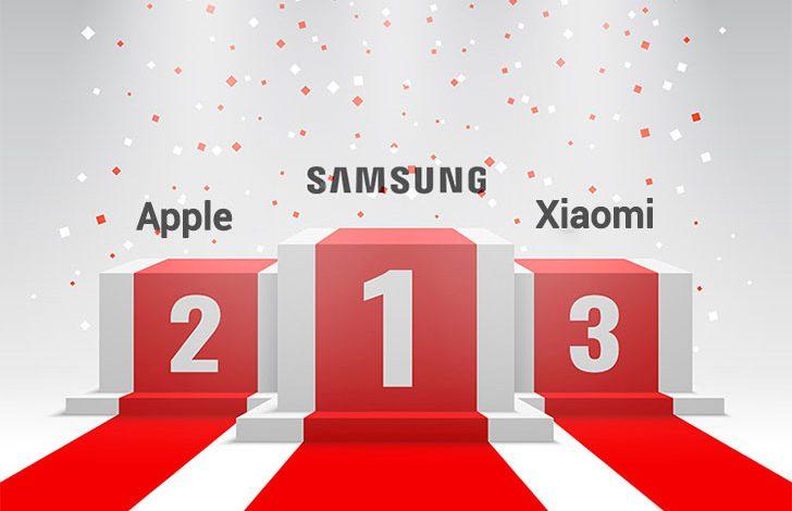 شیائومی رتبه سوم در ساخت گوشیهای هوشمند را از آن خود کرد