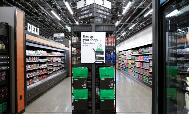 فروشگاههای زنجیره ای می توانند فناوری فروش آمازون را خریداری کنند