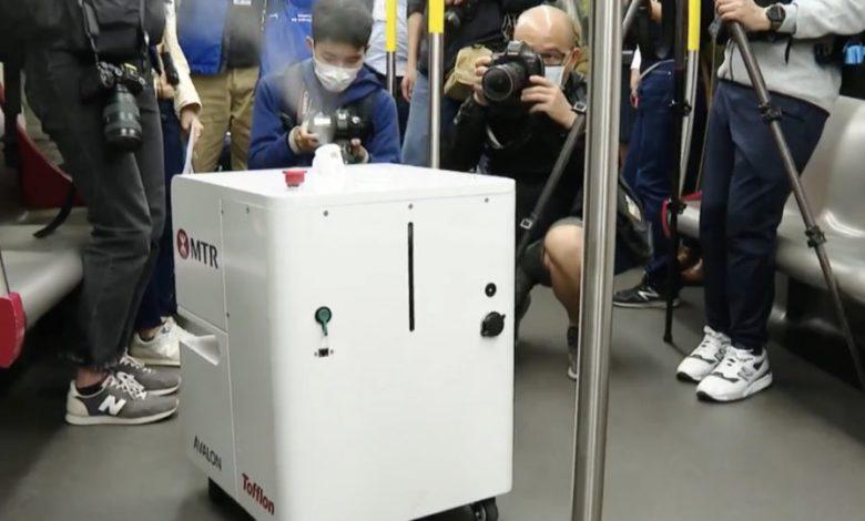 روباتی که می تواند بهتر از نیروی انسانی ضدعفونی کند