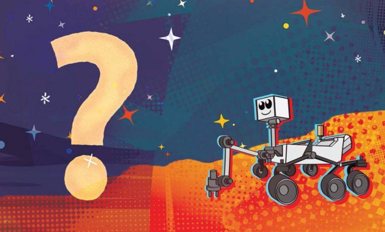 یک دانش آموز نام مریخ نورد ناسا را انتخاب کرد