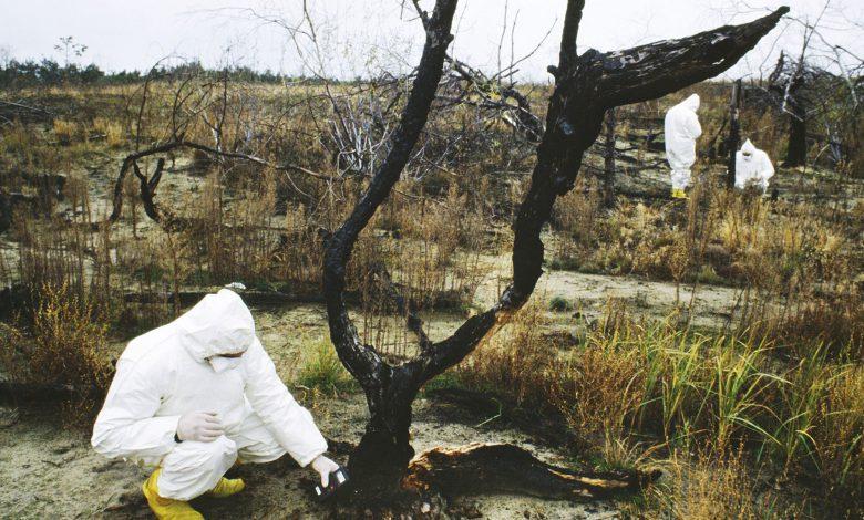 چندین برابر شدن تشعشعات هستهای چرنوبیل در پی آتشسوزی گسترده