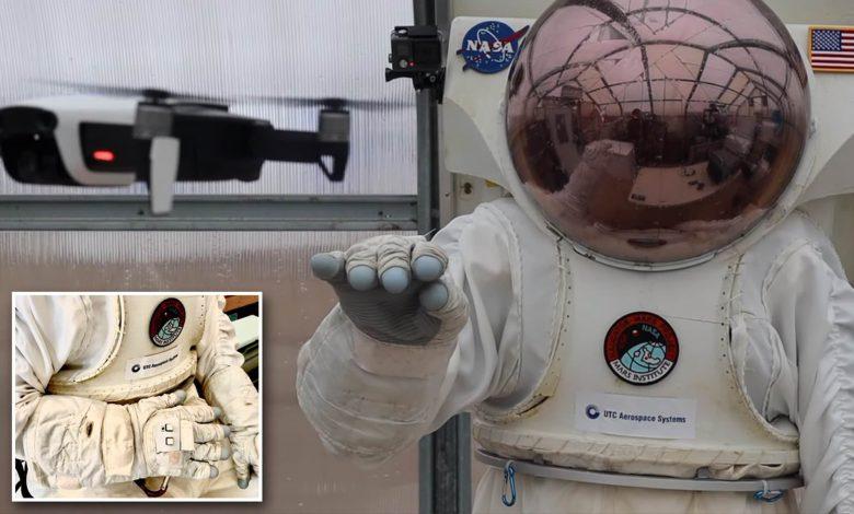 رونمایی از دستکش ویژه فضایی برای کنترل پهبادها با حرکت دست