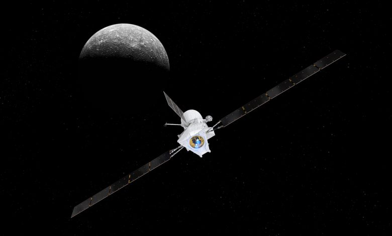 ارسال تصاویر دیدنی از زمین توسط فضاپیمای بپیکلمپو