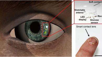 Photo of لنز هوشمندی که می تواند میزان قند خون را اندازه گیری کند
