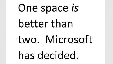 Photo of مایکروسافت ورد اعلان اشتباه نگارشی جدید را در آپدیت خود اضافه خواهد کرد