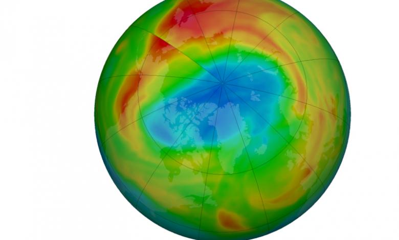 محققان از کشف حفره ای در لایه ازون بر فراز قطب شمال خبر دادند