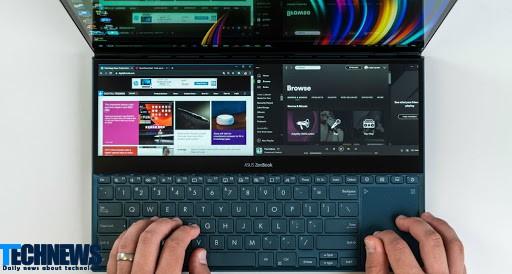 لپ تاپ ذن بوک Duo ایسوس؛ لپ تاپی با دو نمایشگر با قیمت ارزان