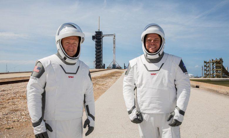 نظرات فضانورد ناسا در مورد پرتاب سرنشین دار آمریکا