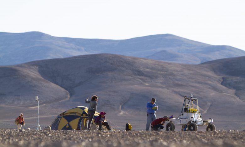 آزمایش مریخ نورد ناسا در بیابان های خشک