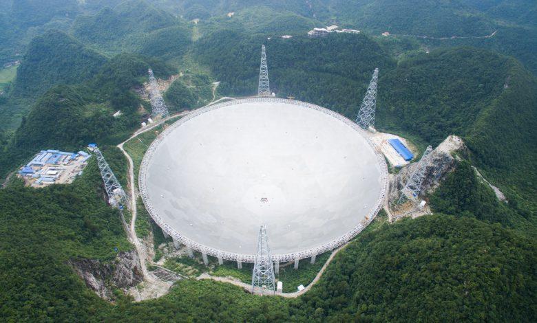 استفاده چین از تلسکوپ رادیویی غول پیکر برای کشف حیات فرازمینی
